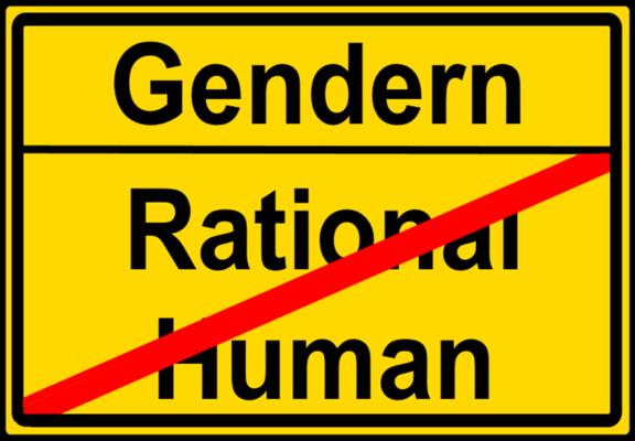 Wahnfahrt nach Gendern