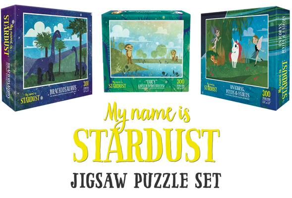 Stardust Aquarell-Puzzle-Set