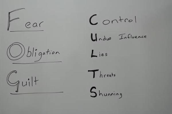 Manipulation mit Schuldgefühlen