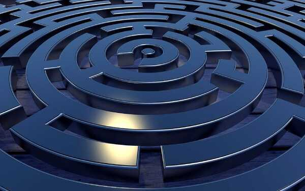 Im Täuschungs-Labyrinth